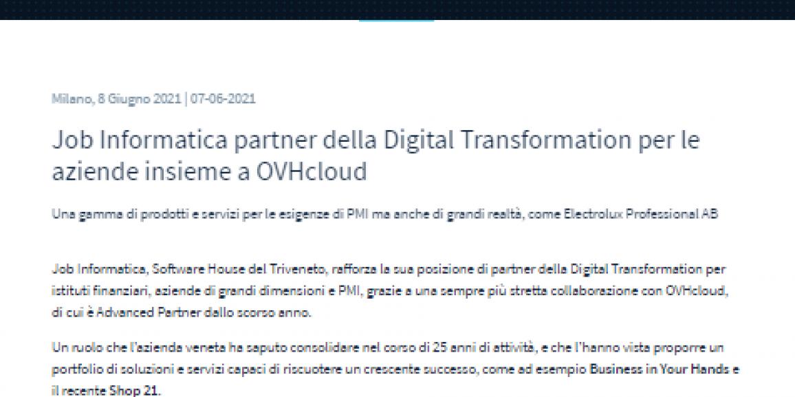 OVH Partnership